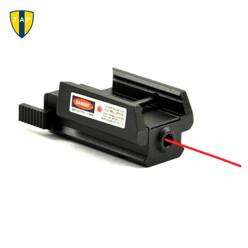 Tactical Airsoftsport 532nm Red Dot Laser sight Scope With Picatinny Weaver Rail 22mm Mount For Glock 17 19 20 21 22 23 30 31 32