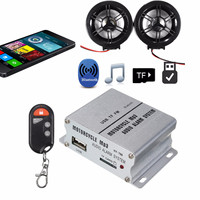 Anti theft Motorcycle Alarm Sound System Motor Car Audio MP3 Stereo Speakers Music Amplifier for Theft Protection New