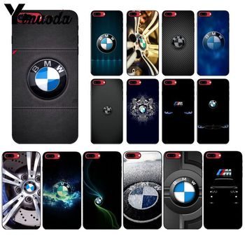 Yinuoda BMW Logo In Stocked Mobile Shell for iPhone X XS MAX  6 6s 7 7plus 8 8Plus 5 5S SE XR Cover