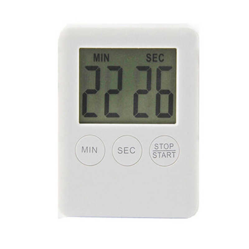 ^Timer Digital Large LCD Kitchen Cooking Count Down Up Clock 99 Minute Alarm New