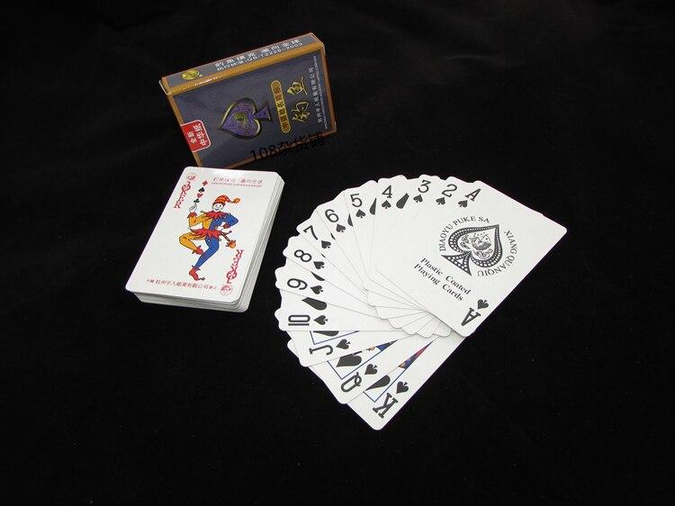 Magie Poker Cartes Tours de Magie Jeu BRICOLAGE MTG Papier Cartes Meilleur Cadeau Exercice Soutiens Différente Conception 500 Ensembles