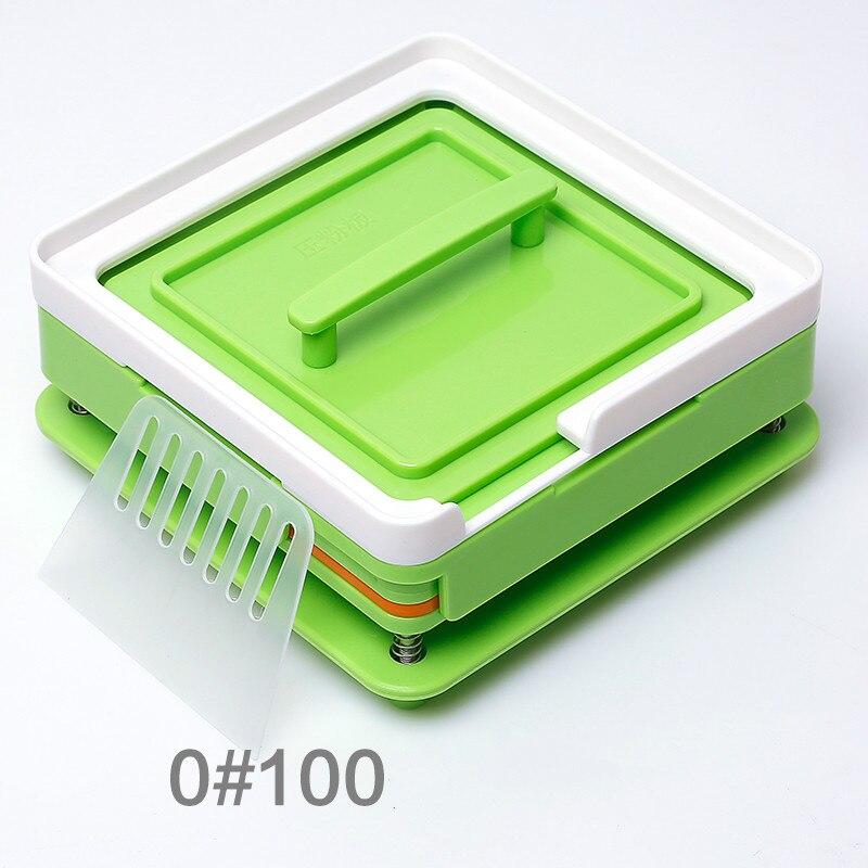100 Holes Manual Capsule Filling Machine #0 Pharmaceutical Capsules Maker DIY Medicine Herbal Pill Powder Filler Size 0