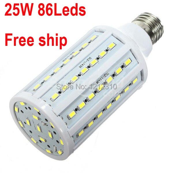 2pcs/lot Free shipping 20W 86LED 5630 SMD E27 E14 Corn Bulb Light Maize Lamp LED Light Bulb Lamp LED Lighting Warm/Cool White