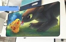 Pokemons геймерский коврик для мыши рождественские подарки 800x400x2 мм игровой коврик для мыши xl аксессуары для ноутбука ПК padmouse эргономичный коврик