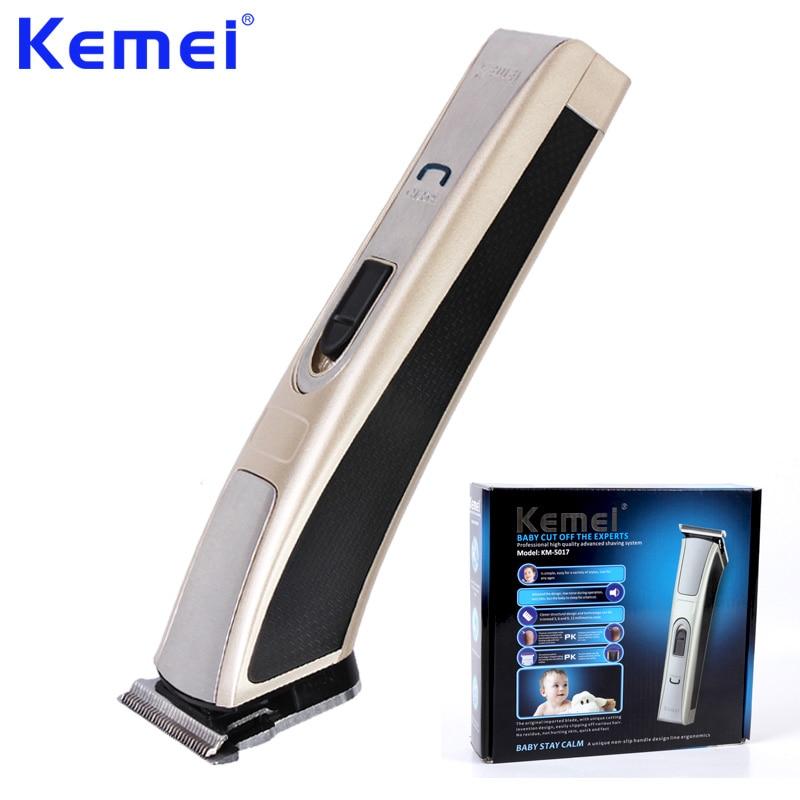 KEMEI High-Power Electric Man Baby Hair Clipper Trimmer Mute Safe Rechargeable Hair Cutting Machine Aparador De Barba KM-5017
