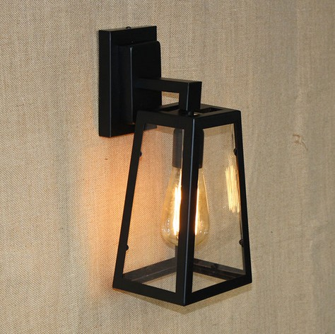 Edison Retro Loft Style Sconce Vintage Wall Light For Home Antique Industrial Wall Lamp Iron Glass Indoor Lighting Luz De Pared  цена и фото