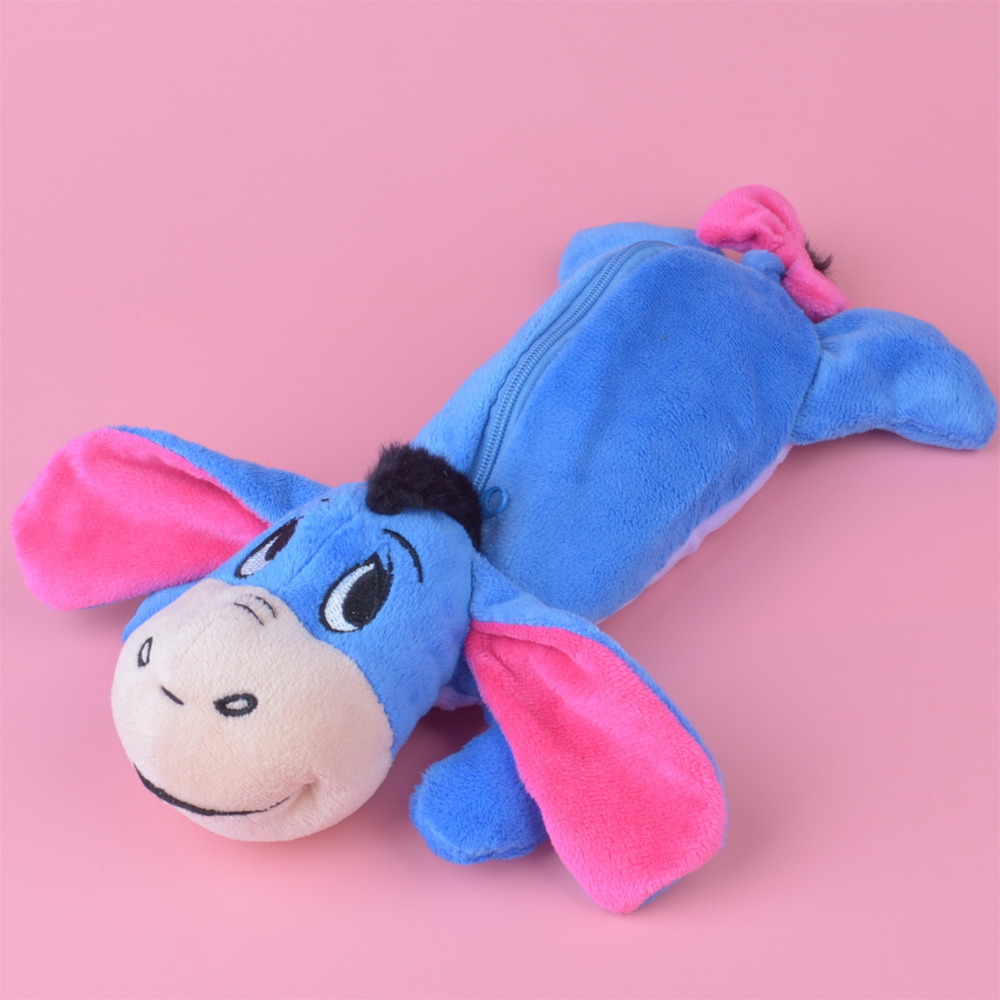 Eeyore Dankey Plush Toy Pencil Case, Kids Child Coin Bag Gift Free Shipping forest lion stuffed plush toy pencil case kids child coin bag gift free shipping