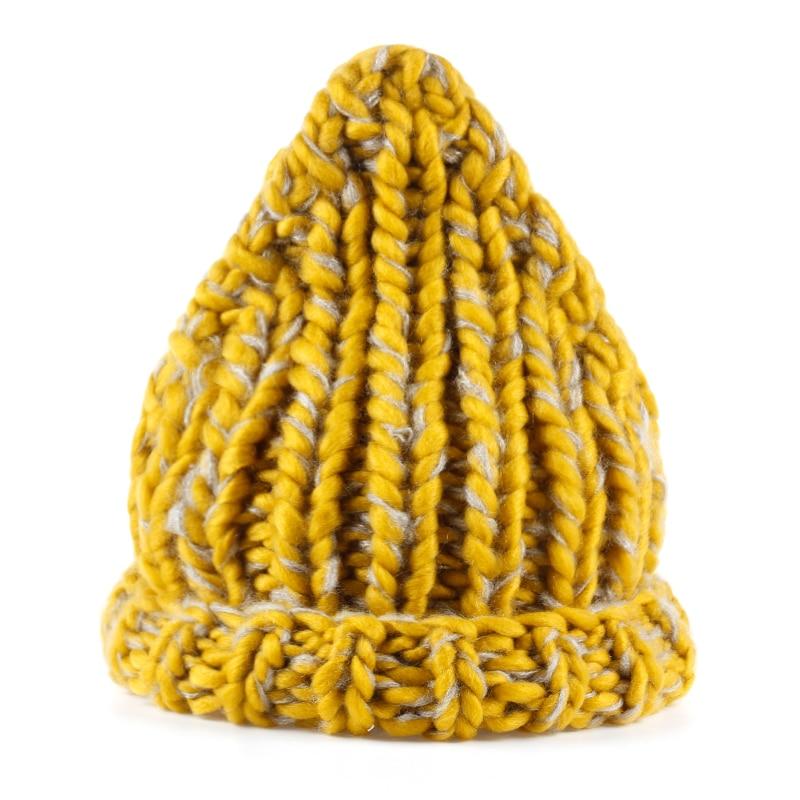 VORON 2017 Haute Qualité Hiver Chapeau Femmes Tricoté Chapeau Lady Beanie Chapeaux D'hiver Skullies Bonnets De Mode D'hiver Chaud Femelle Cap