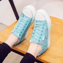 Hidden Heel Chunky Sneakers Women Casual Shoes