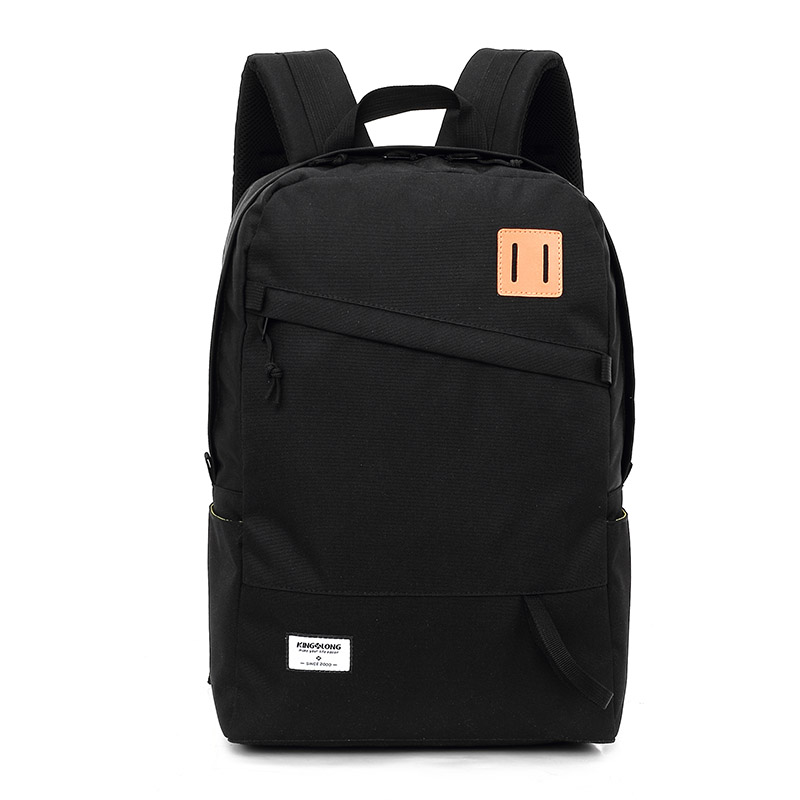 KINGSLONG Black Men's Backpack Tourist Lightweight Male Backpack for Travel 14 15.6 Inch Laptop Backpacks Bag Women #53