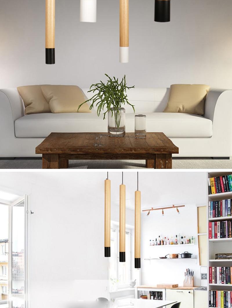 Modern lamp wood 1