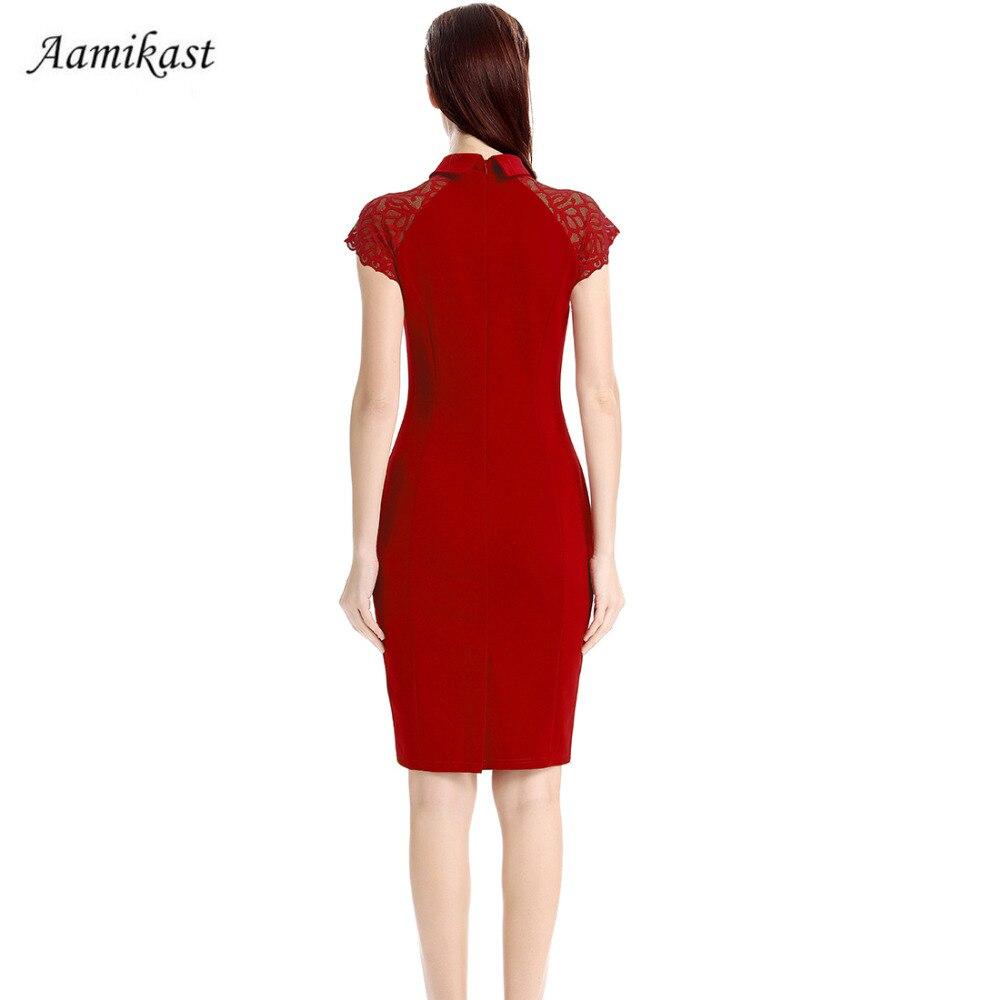 Ženske haljine od čipki sa šeširom od mandarine Elegantni vintage - Ženska odjeća - Foto 2