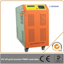 1500W 48V 30A off grid combined solar controller inverter simple LED display show working status clearly