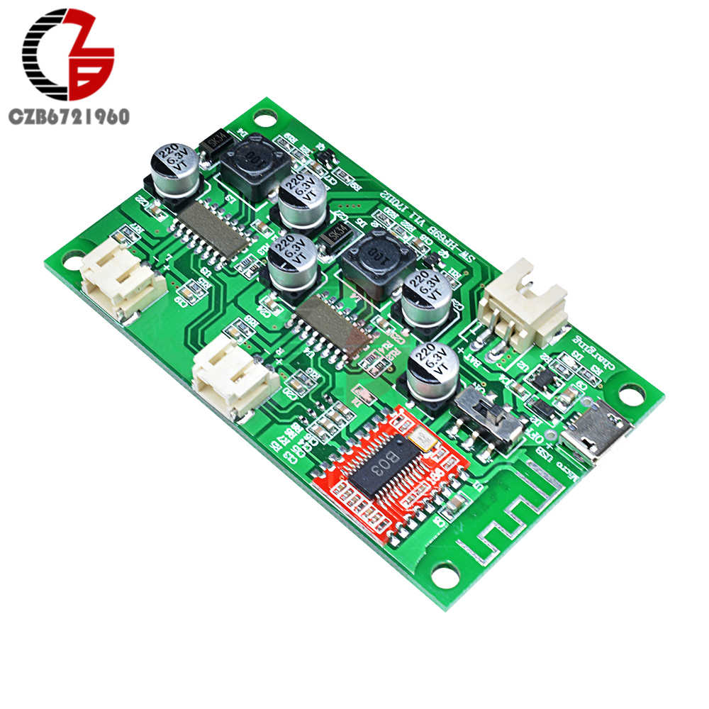 detail feedback questions about dc 5v 6w 6w stereo bluetooth audiodc 5v 6w 6w stereo bluetooth audio sound power amplifier board 2 channel micro usb