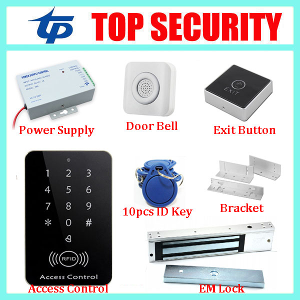 Good quality 1000 users standalone single door smart RFID card door access control reader EM card access control system surface waterproof metal key access control card reader standalone 8000 users single door 125khz rfid em card access controller