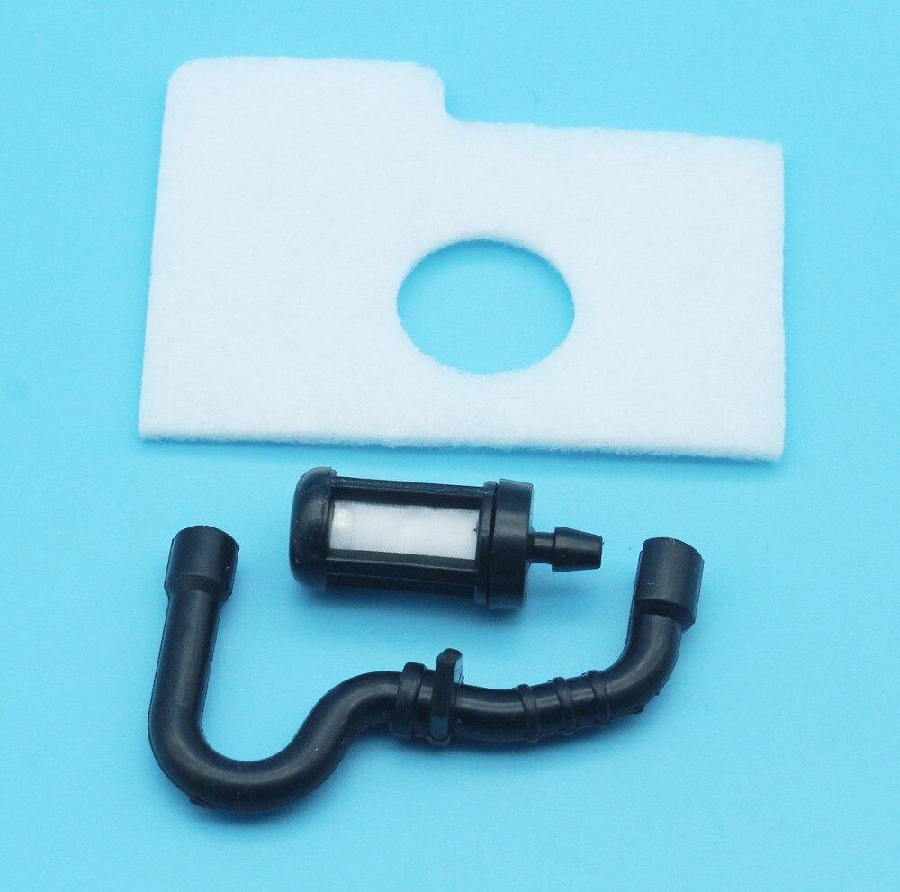 Ersatz Luftfilter Weiß für Stihl 017 018 MS170 MS180 Set Neu Langlebig