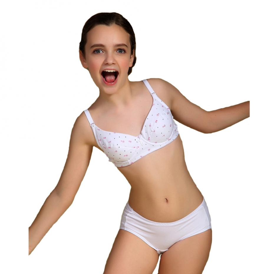 child bras model Wofee Young Girl Training Rim Thin Cup Bra and ...