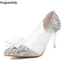 Zapatos de tacón alto con diamantes de imitación de alta calidad para mujer (China) df405f3aae27
