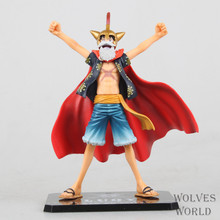 16CM Anime One Piece Lucy Monkey D Luffy PVC Action Figure Dead or Alive Figure Model Figuarts ZERO Collectible Toys in box New