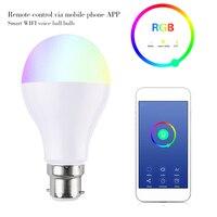 DSHA Smart Светодиодный лампочки, WI-FI приложение Управление, 7 w B22Dimmable 600 люмен, совместимый с Alexa, Google помощник