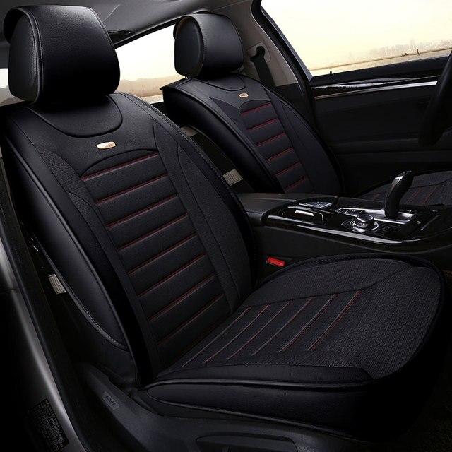 Four Seasons Universal Car Seat Cover Auto Seats Covers For Fiat Panda Grande Punto Stilo Uno