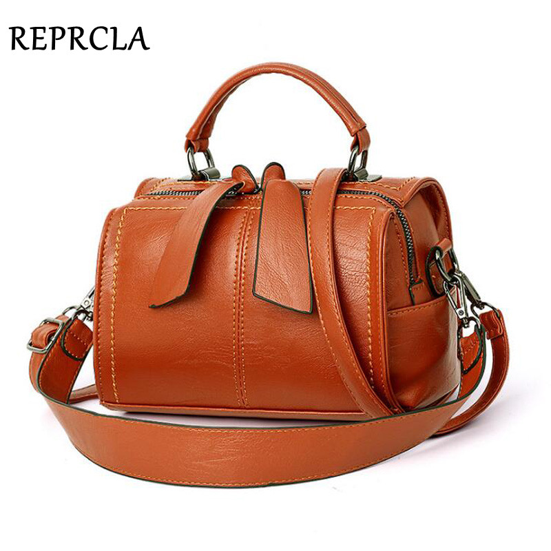 REPRCLA Fashion Elegant Handbag Women Shoulder Bag High Quality Crossbody Bags Designer PU Leather Ladies Hand Bags Tote 2