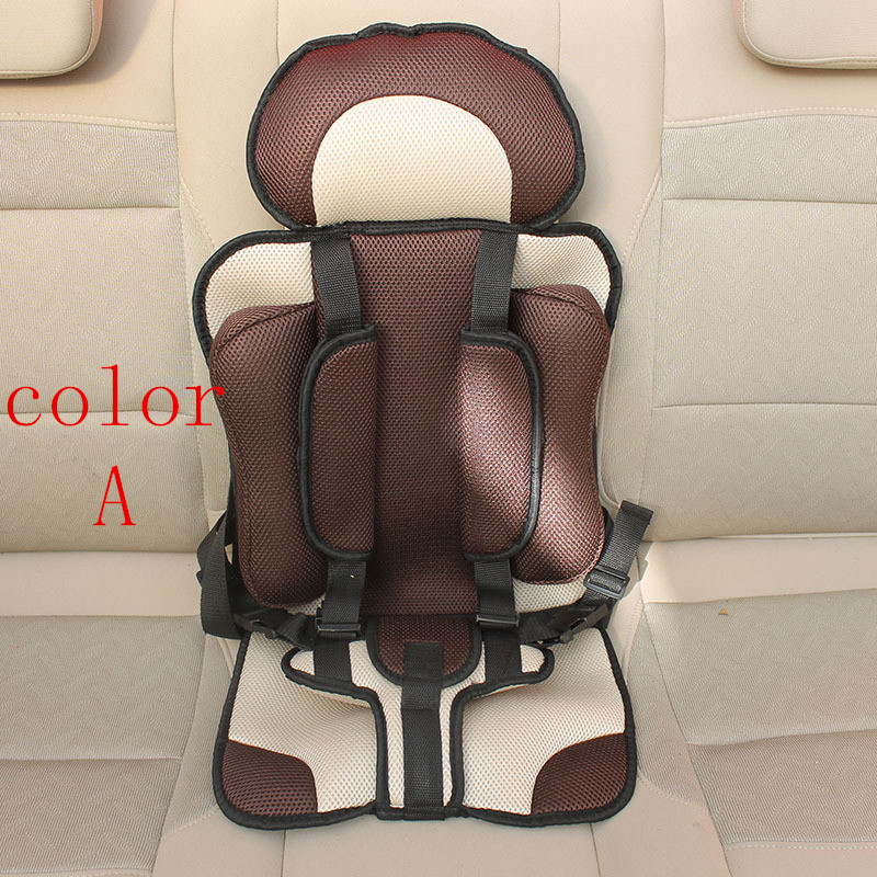 Portable baby car seat baby safety seat car seat Children`s Chairs in the Car Updated Version Thickening Cotton Kids Car Seats
