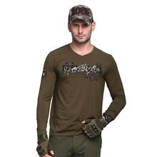Уличные тактические мужские футболки военные удобные хлопковые спортивные футболки для кемпинга альпинизма армейские дышащие футболки с коротким рукавом