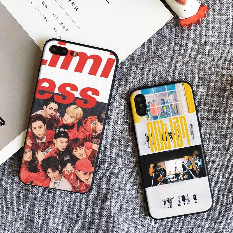 NCT 127 Kpop Garçon groupe Coque tpu Souple En Silicone Phone Case Cover Shell Pour Apple iPhone 5 5S Se 6 6 s 7 8 Plus X XR XS MAX