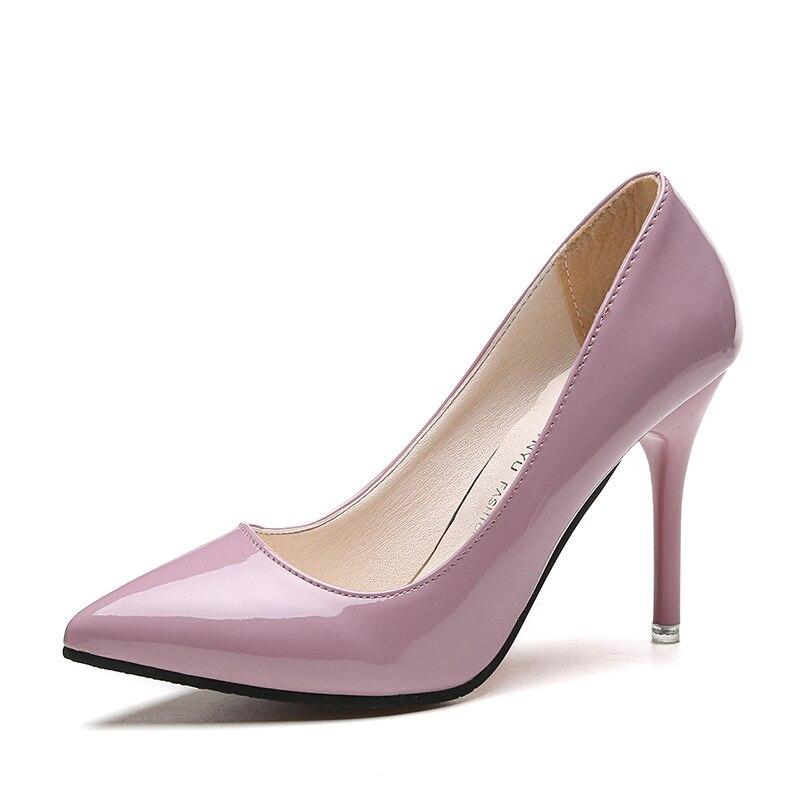 Women Pumps Shoes Slip-On Shallow Wedding Party Thin Heels Pointed Toe Woman High Heels Pumps Women Dress Shoes стоимость
