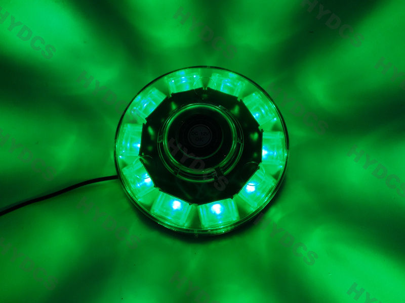 CYAN SOIL BAY 10LED Emergency Warning Roof Top Beacon Flashing Strobe Light 12V Green 30W car roof led flashing lamp strobe light bar emergency beacon alarm roof light 24 led dc 12v strobe lightbar
