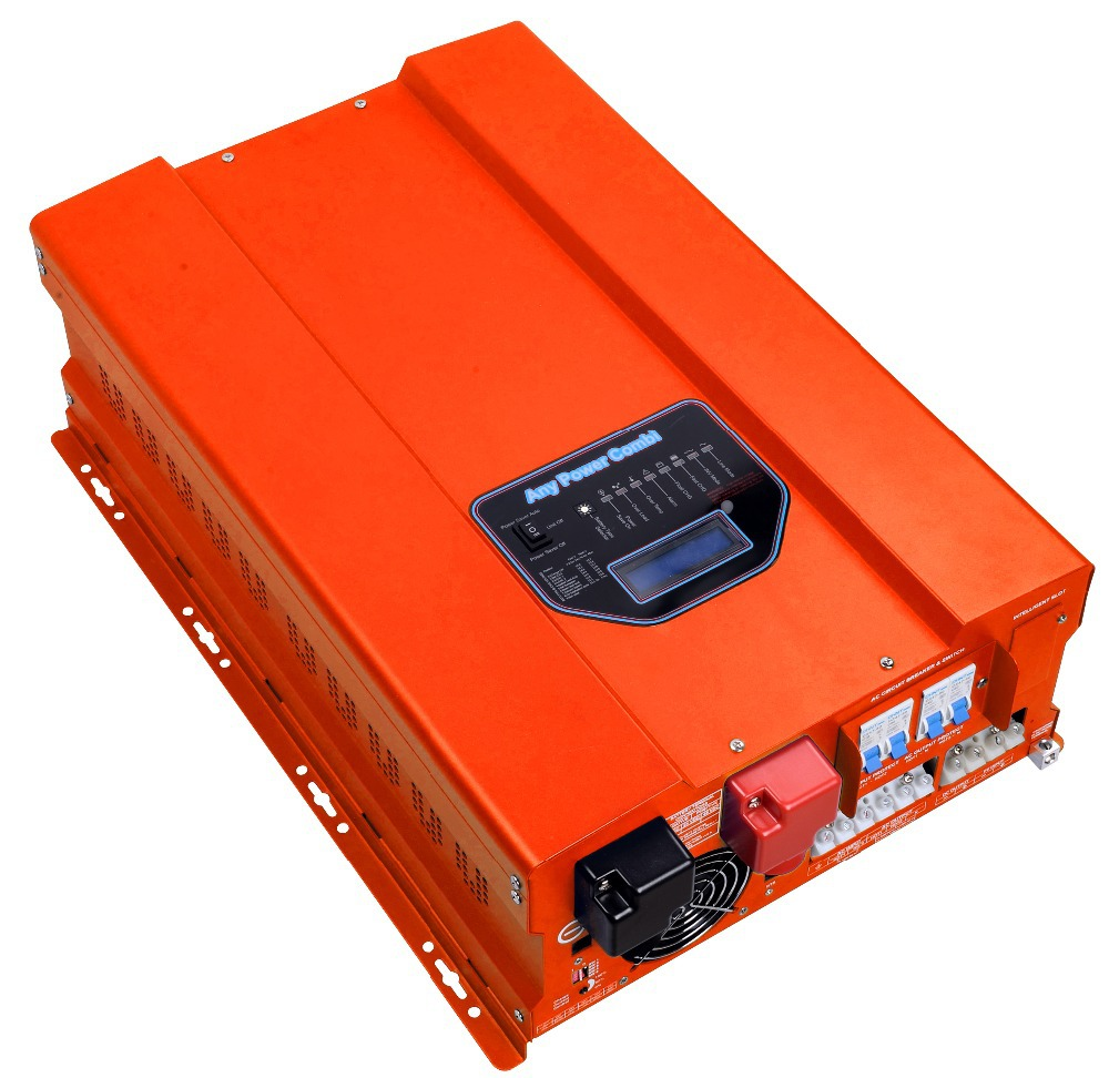 12000w Max 36000w Pure Sine Wave Solar Power Inverter With Mppt Dc Ac On 5000w Controller Dc12v 24v 48v To Ac120v 240v In Inverters Converters From Home