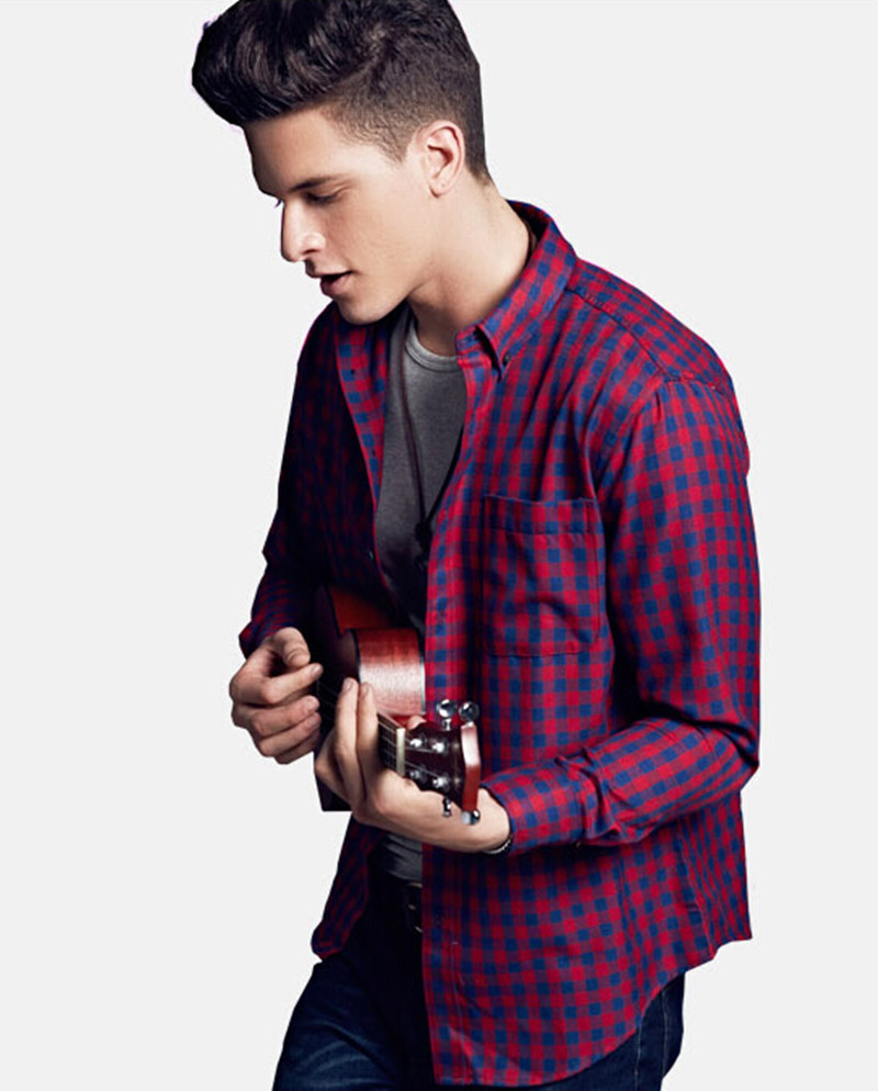 Buy brand new mens shirts business casual for Mens casual plaid shirts