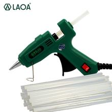 LAOA 25W/100W Hot Melt Glue Gun with Free Sticks