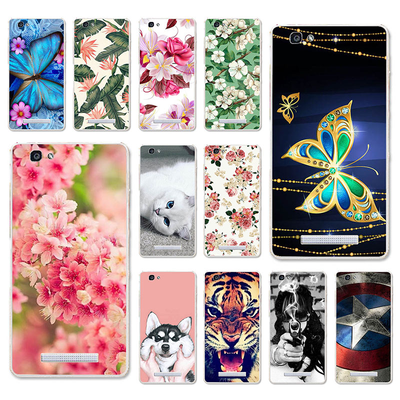 TAOYUNXI Cases For ZTE Blade A610 Case Soft Covers Voyage 4 V6 Max BA610 A 610 5.0 Inch Painted Bags Skins Shell Housings