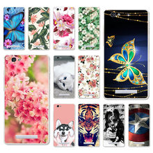 TAOYUNXI Cases For ZTE Blade A610 Case Soft Covers Voyage 4 V6 Max BA610 A 610 5.0 inch Painted Bags Skins Shell Housings(China)