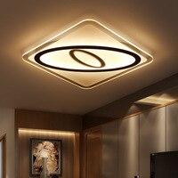 LED Ceiling Lights 53cm 53cm 53W Led Lamp Modern Led Ceiling Light For Living Room Bedroom