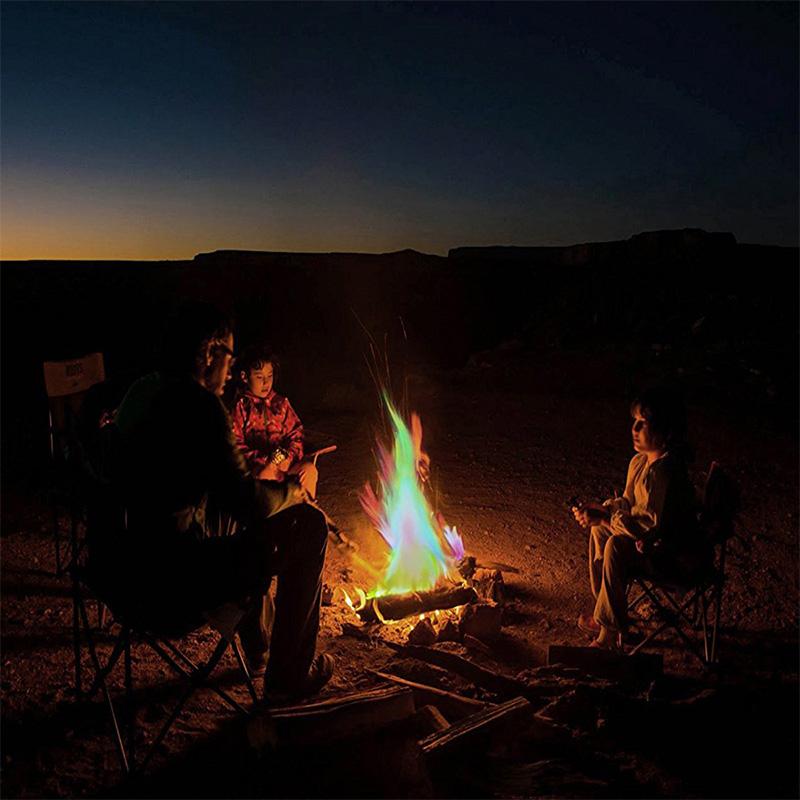 Magic Fire Flames Colour Changing Mystical Fire Bonfire Sachets Fire Pit 1-10PCS