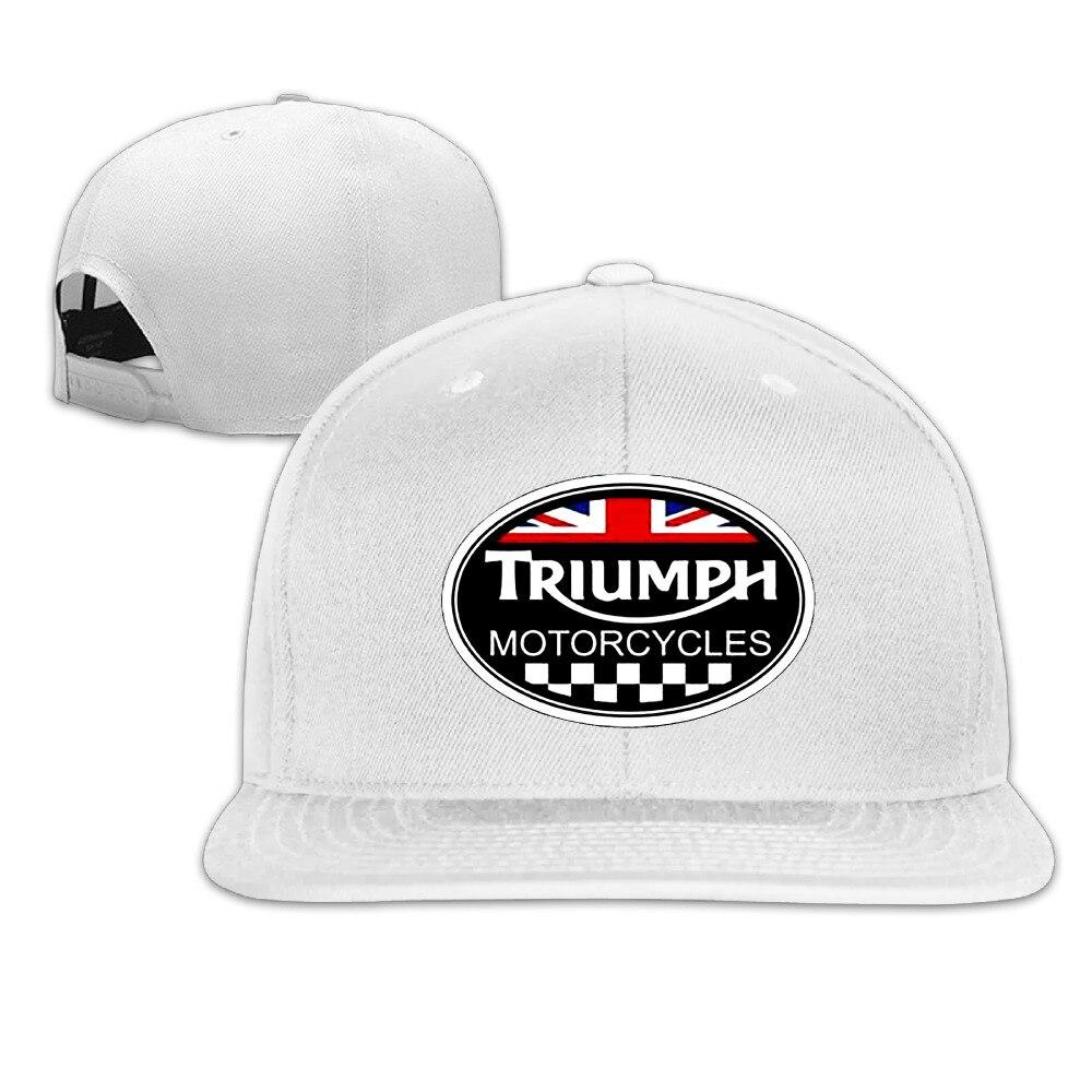 Prix pour Triumph Logo Noir Baseball Équipée Chapeau Chapeau Occasionnel Gorras Hip Hop Snapback Chapeaux Wash Cap Pour Hommes Femmes Unisexe