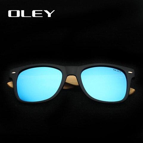 OLEY New Bamboo Polarized Sunglasses Men Wooden Sun glasses Women Brand Designer Original Wood Glasses masculino Karachi