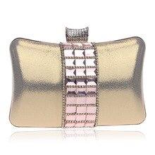 Neue Exquisite Glas Diamanten Frauen Abendtasche Luxus Hochzeit Handtasche Damen Tageskupplungen Messenger Taschen Handtaschen Geldbörsen