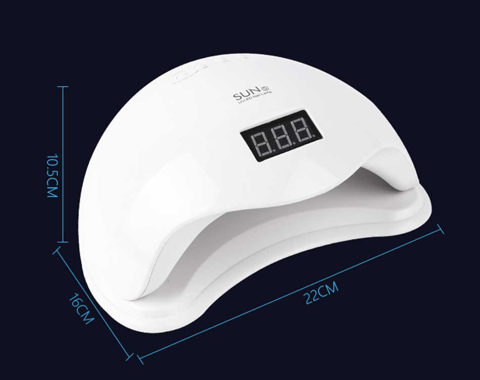 Neue SUN5 UV LED Lampe Für Nägel Trockner 48W Lampe Für Maniküre Gel Nagel Lampe Trocknen Lampe Für Gel lack freies versand schnell liefern