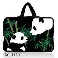 Panda Soft Sleeve Bag Case For Apple Macbook Air Pro Retina 7 9.7 10.1 12 13 13.3 14.4 15.4 15.6 17 inch laptop Notebook Bag