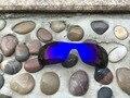 Новый Синий Фиолетовый Цвет Замены Поляризованные Линзы для Oakley Antix Солнцезащитные Очки 100% UVA и UVB