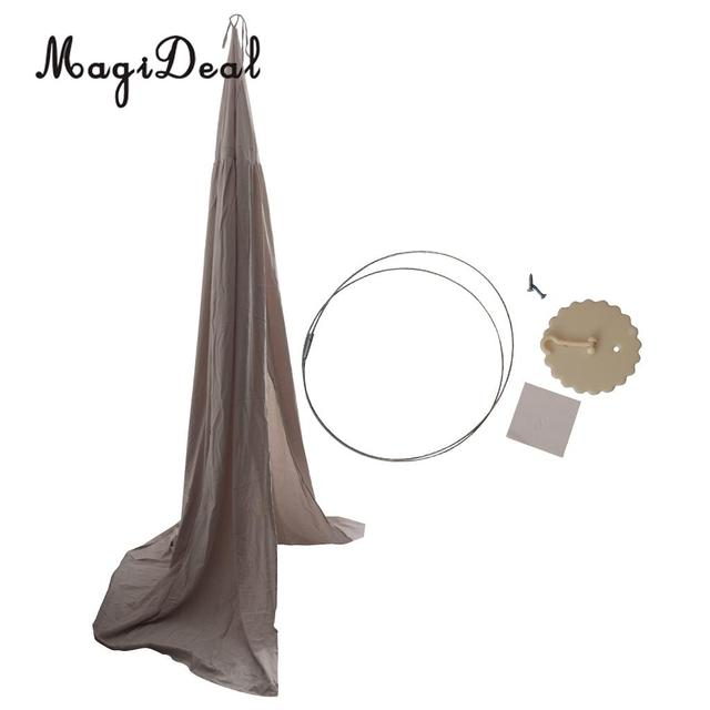 Gray Pink bed canopy hanging 5c64d7e7450f8