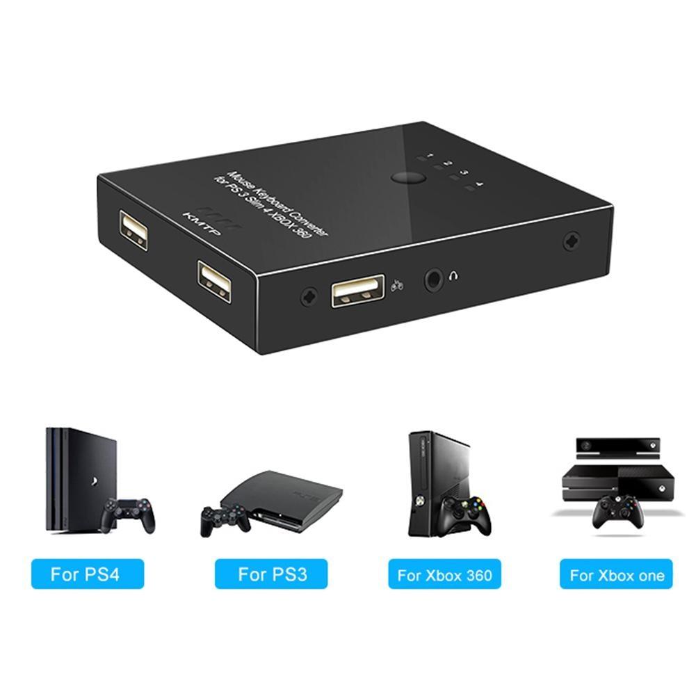 USB Portable clavier souris adaptateur Gamer convertisseur pour Xbox 360/One PS3/PS4 Portable USB clavier souris