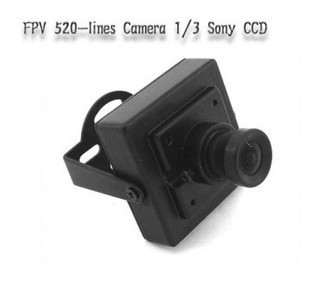 FPV 520 line Figure transmission camera 1/3ccd sony (Free Shipping)