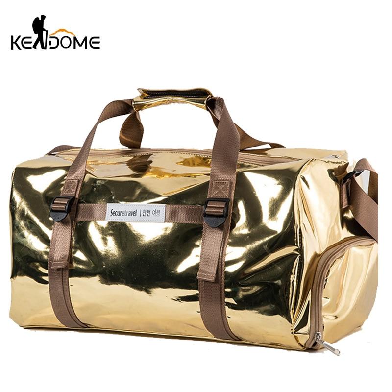 Waterproof Women Gym Bag Fitness Training Shoes Men Handbag Large Shoulder Yoga Handbag Travel Duffel Sac De Sporttas XA118D