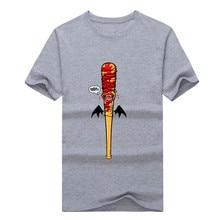 2017 funny The Walking Dead Negan Lucille T-shirt NEW S-3XL T shirt 1215-9