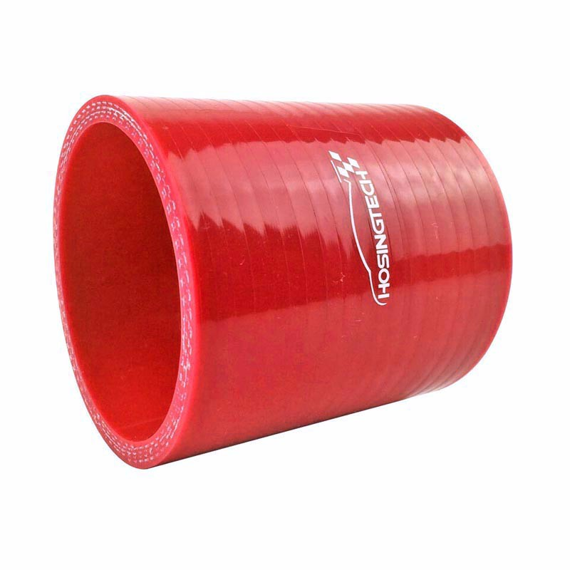 "RED 2.5/"" 63mm 3-ply Silicone Coupler Hose Turbo Intake Intercooler For Audi"